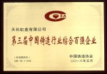 2018年第三届中国铸造行业百强企业